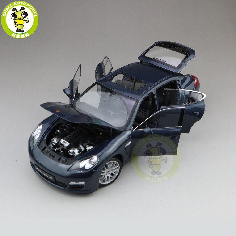 1/18 Welly Panamera S moulé sous pression en métal modèle voiture jouets enfants garçon fille cadeaux