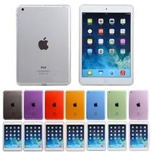 Мягкий ТПУ чехол для планшета для iPad mini 4 силиконовый прозрачный чехол для iPad mini 4 Кристалл Защитный чехол высокий