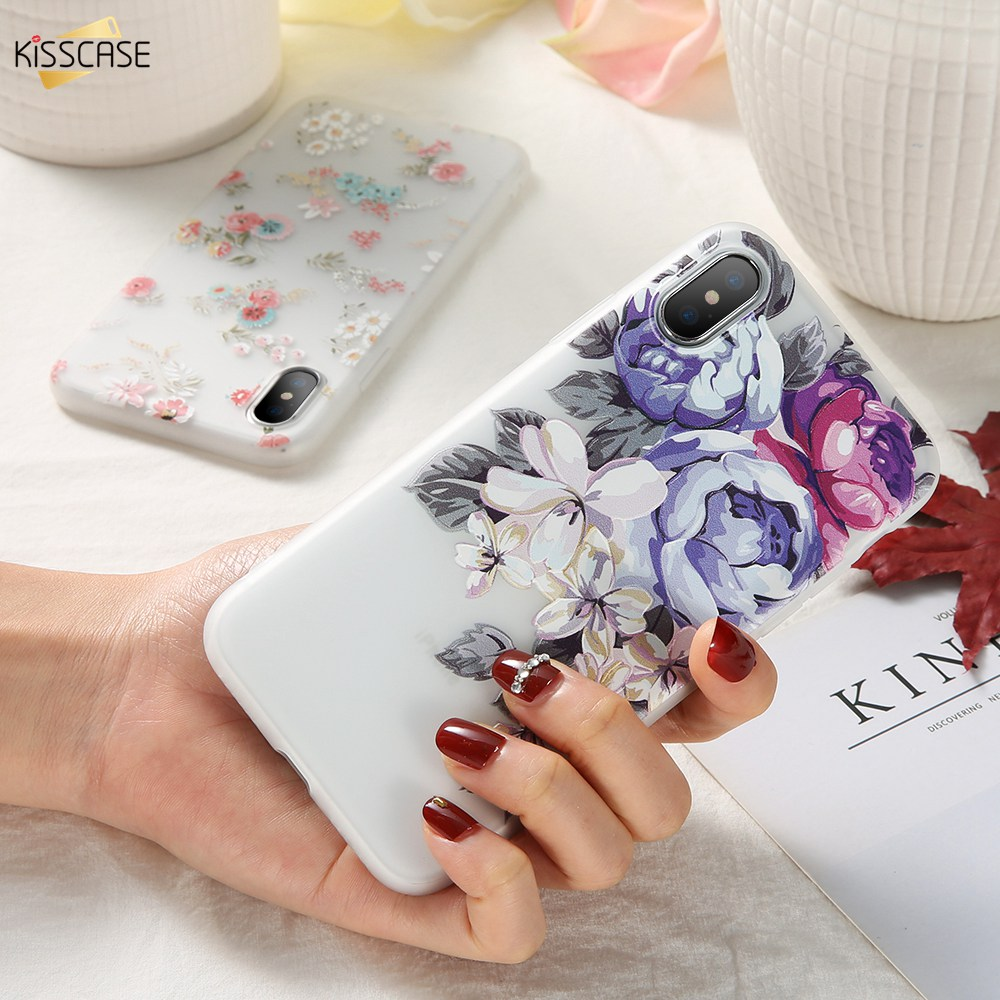 Image 5 - KISSCASE 3D Relief Flower TPU Phone Case for Xiaomi Redmi Note 7 6 5 Pro 4 4X 4A 5A 5 Plus 6A 6 Pro Redmi GO Soft Case Cover-in Fitted Cases from Cellphones & Telecommunications