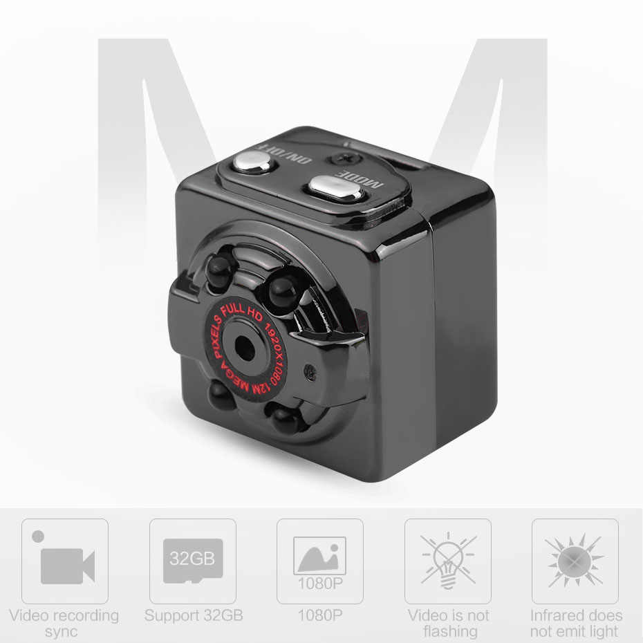 SQ8 Mini กล้อง HD กล้องวิดีโอ 1080P HD Night Vision MINI Sport DV กล้อง Motion Sensor Micro วิดีโอบันทึก