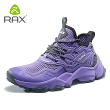 Rax 2019 Spring New Style Light Hiking Shoes Woman Outdoor Sports Sneakers for Female Trekking Breathable Travelling