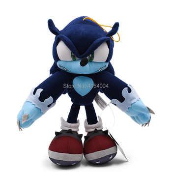 30 cm Sonic World Adventure Sonic the Werehog Soft Doll Cartoon Animal Stuffed Peluche Plush Toy Christmas Gift For Children