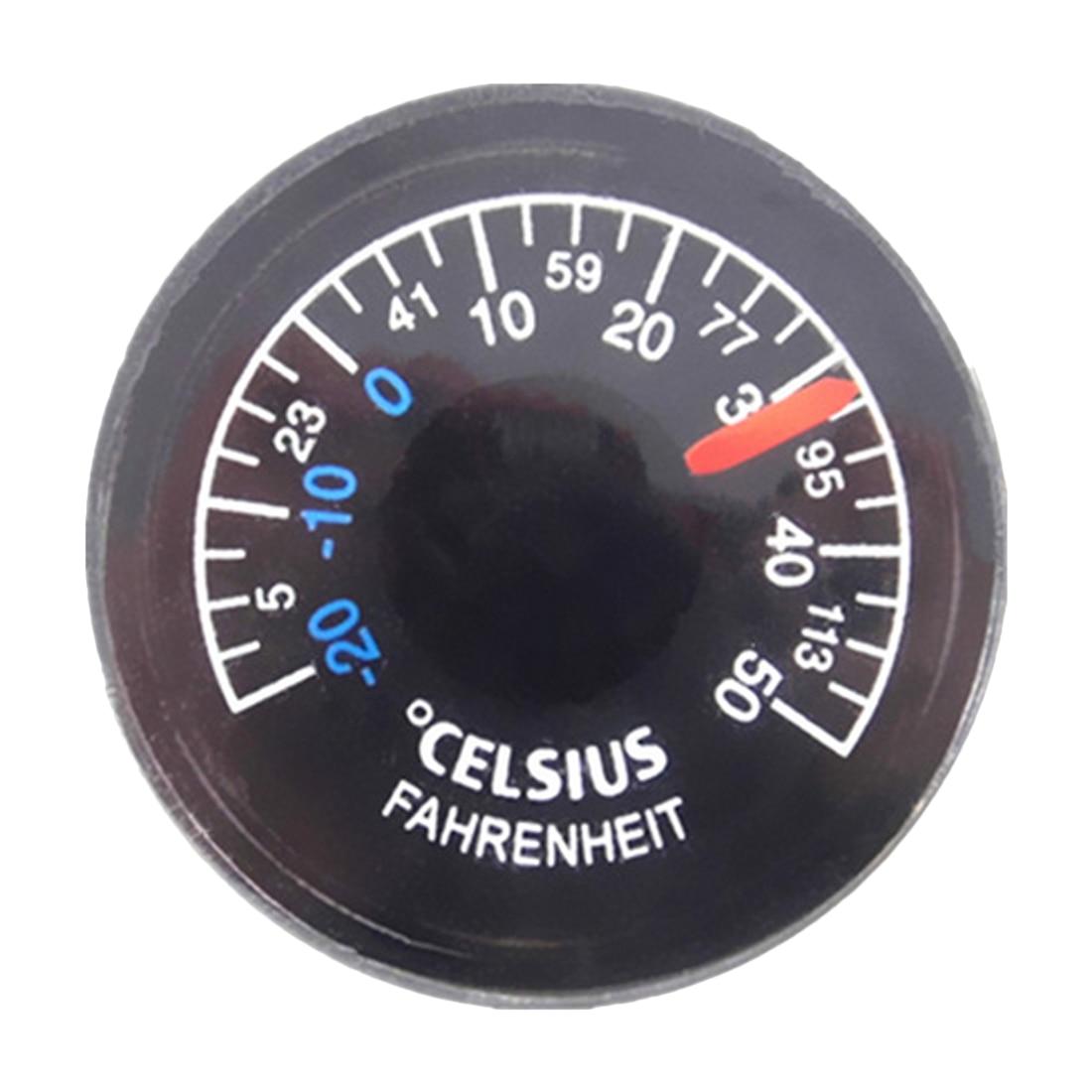 Kunststoff Runde Mini Thermometer Durchmesser 15/20/25/27mm Mini Geist Zirkular Thermograph Celsius Hydrothermograph Messung Und Analyse Instrumente 20-50c