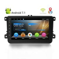 8 Inch Smart Android 7.1 Car Universal MP5 MP4 Player HD Large Screen Navigation