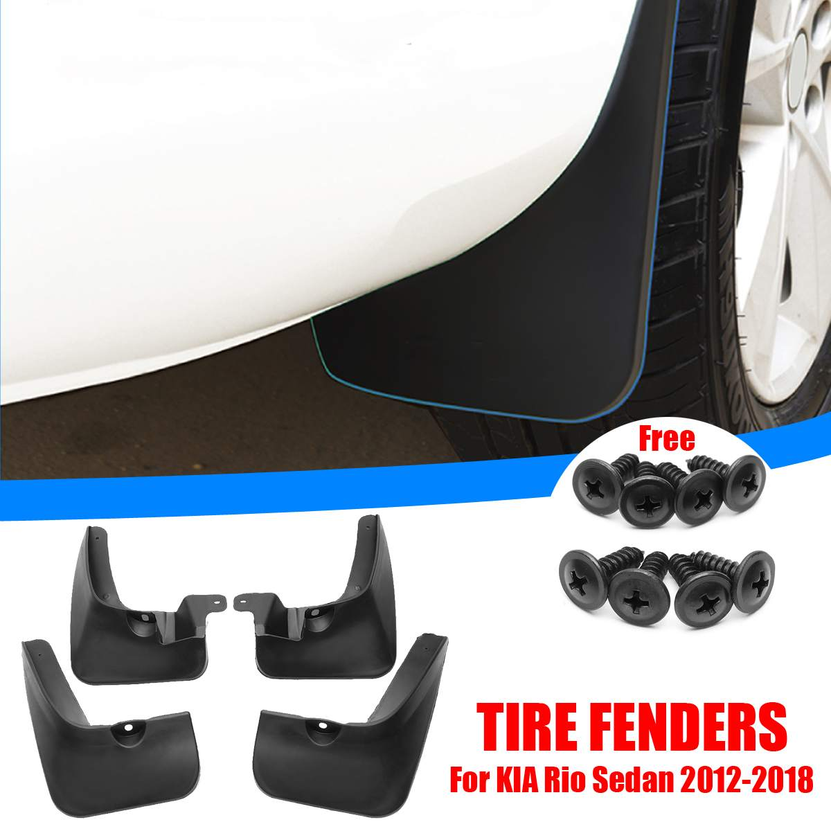 MG ZR,ZS /& ZT MOULDED REAR MUDFLAPS