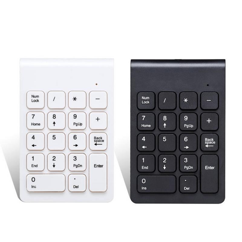Wireless Numeric Keypad Mini Keyboard 2.4g Small Stylish Keypad For Games Office Entertainment Laptop Supplies