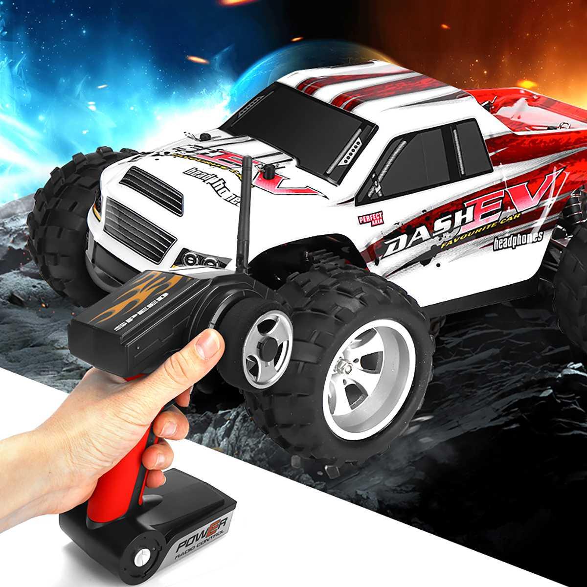 Date 1:18 WLtoys A979B camion 2.4G 4WD RC voiture 70 KM/h haute vitesse tout-terrain course Buggy camion jouets télécommande voiture moteur