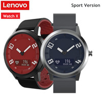 Lenovo WATCH X Sports Bluetooth Smart Watch 5ATM Waterproof Remote camera Smartwatch OLED Display Heart Rate Monitor Pedometer