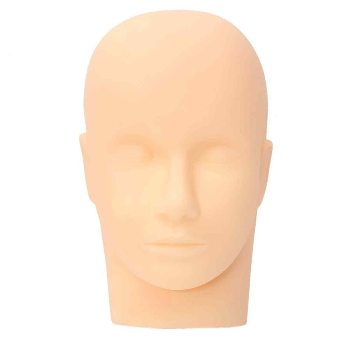 تدليك المعرضة رئيس شقة العين الوجه رمش رمش تمديد ماكياج الممارسة نموذج التجميل المهنية رؤساء التدريب أداة