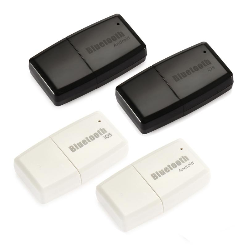 Wireless Bluetooth V4.1+ EDR A2DP 3.5mm USB Handsfree Home Car Kit AUX Audio Stereo Music