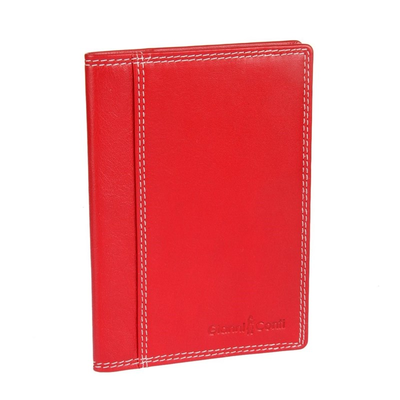 Фото - Passport cover Gianni Conti 1807455 El. Red multi lovmaxi 2018 genuine leather men passport cover men s wallets vintage multi function long purses card holders cases