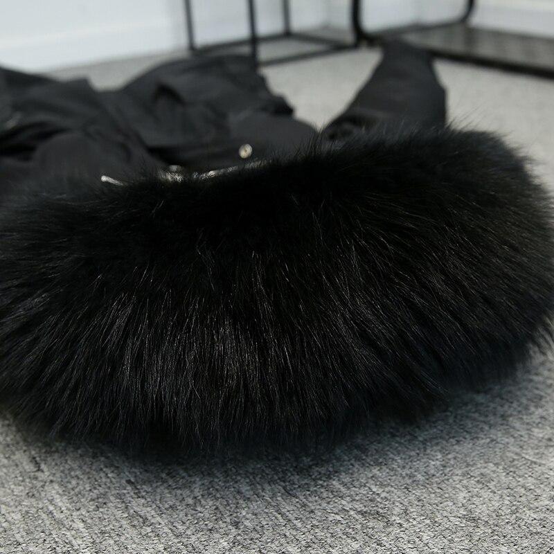 5xl plus size casaco de inverno feminino 2018 jaqueta de inverno com capuz acolchoado algodão parka longo alta qualidade quente jaquetas p672 - 6