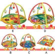 Kids Children Baby Fitness Rack Game Blanket Crawling Carpet Mat Gym Toys Intellectual Development YJS Dropship недорого