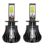 Zarpooz 2 шт./компл. авто фары противотуманные лампочки H3 H8 H9 H11 880 881 белый цвет желтый, синий; размеры 34–43 Цвета туман светодиодный фар автомобиля