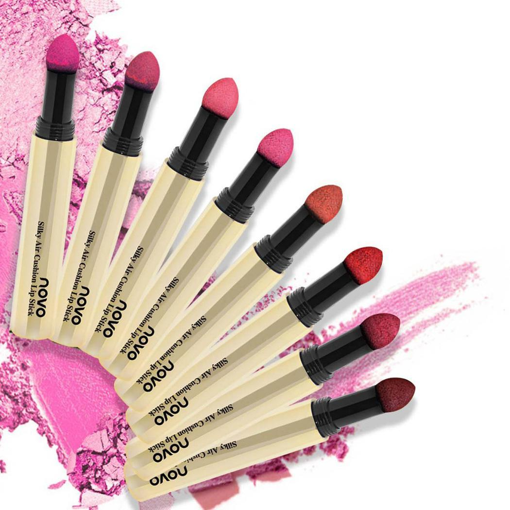 Matte Gradient Air Cushion Lipstick Natural Waterproof Lip Color Fashion Biting lip Women