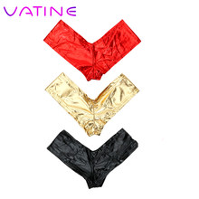 VATINE Sexy Underwear Gilded Sexy Lingerie T Pants Thongs Adult Products Low Waist Hip Sex Toys for Women(China)