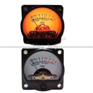 Image 1 - 1 xแผงVU Meter WARM Back Lightเครื่องขยายเสียงตัวบ่งชี้และเสียงระดับAMP DBตารางDC 6V 12Vสำหรับบอร์ด