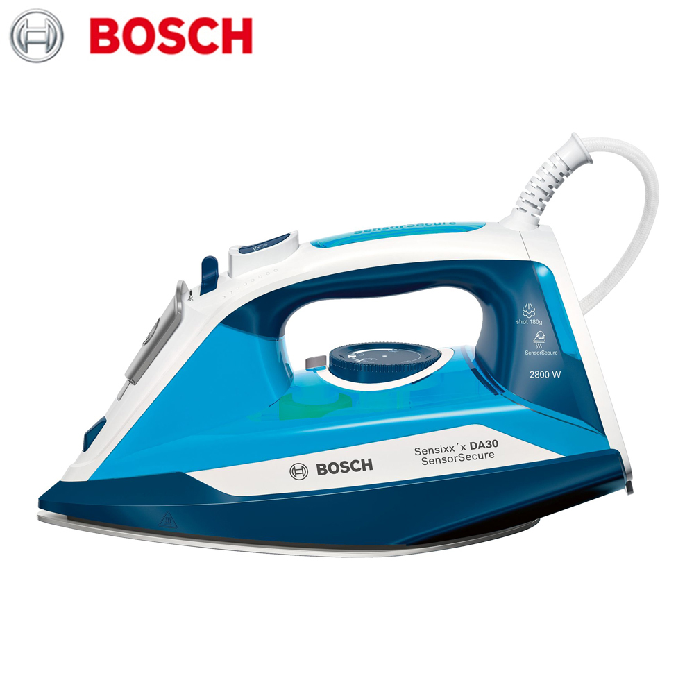 Electric Irons Bosch TDA3028210  household appliances laundry steam iron ironing clothes