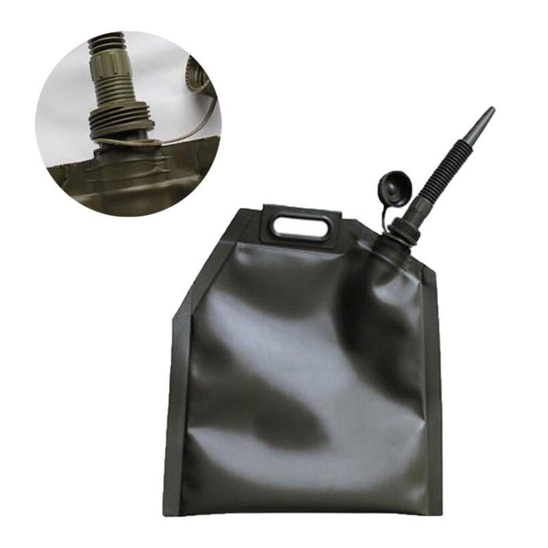 10L 20L 30L Portable Car Motorcycle Soft Oil Bag Bladder Off road Petrol Cans Spare Oil Storage Fuel Tank Gasoline Bucket Can
