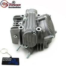 Stoneder 60mm cabeça do cilindro motor assy para zongshen z155 150cc 160cc 1p60ymj mx thumpstar explorador braaap atomic pit bicicleta da sujeira