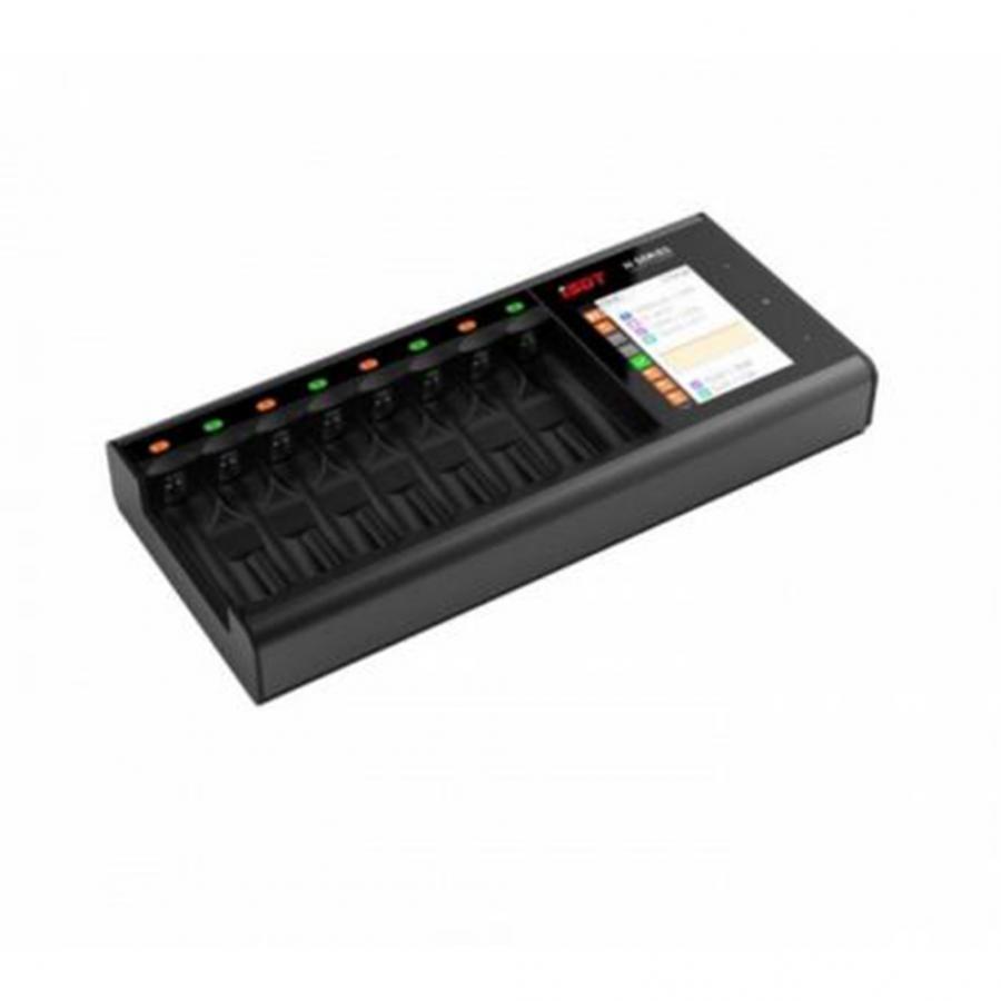 N8 DC 18 W 1 8 AA/AAA بطارية LCD شاحن بطاريات ذكي محول ل ليثيوم LON LiHv سريعة شاحن-في قطع غيار وملحقات من الألعاب والهوايات على  مجموعة 1