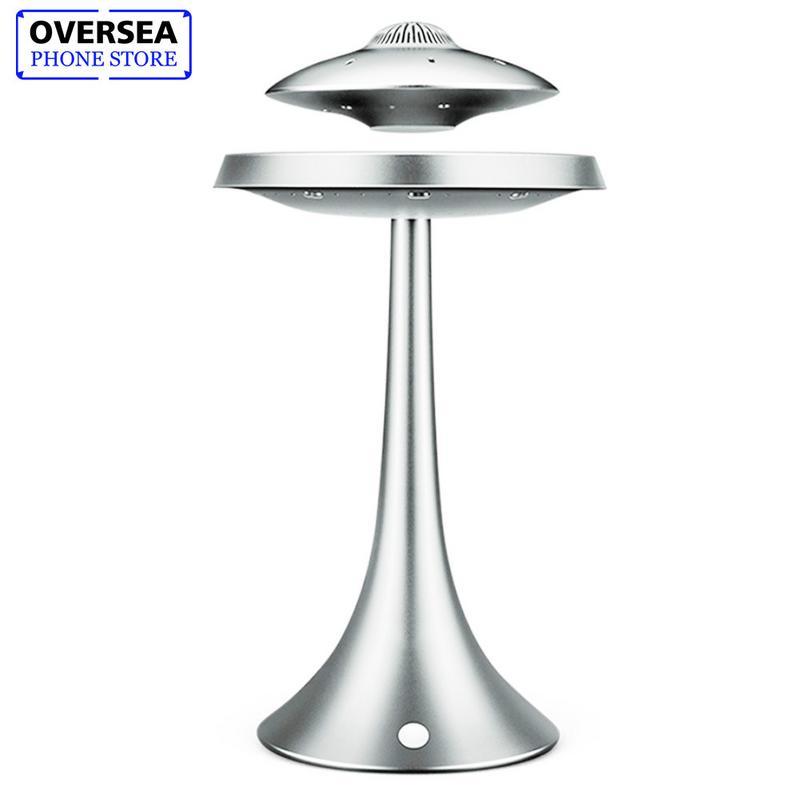 UFO Haut-Parleur Magnétique Suspension lumières colorées bluetooth sans fil Soucoupe Volante Subwoofer Portable Audio & Vidéo Accessoires