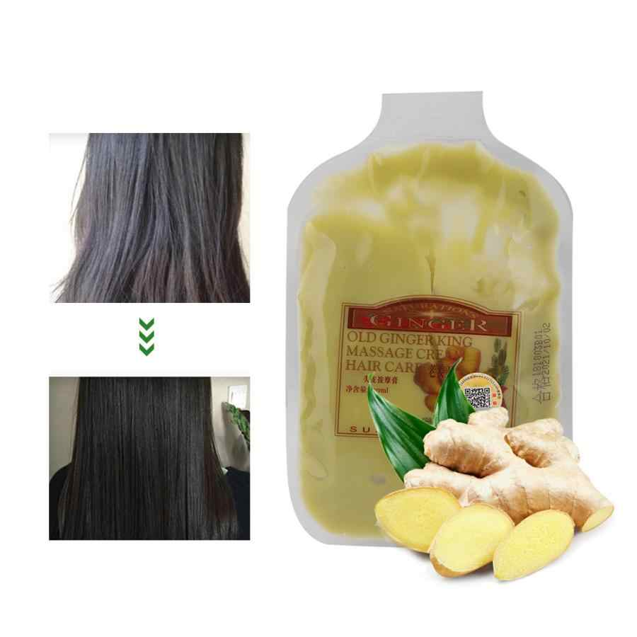 Hair Care Scalp Massage Cream Ginger Essence Nourishing Hair Care Conditioner Moisturizing 100g Keratin Hair Treatment