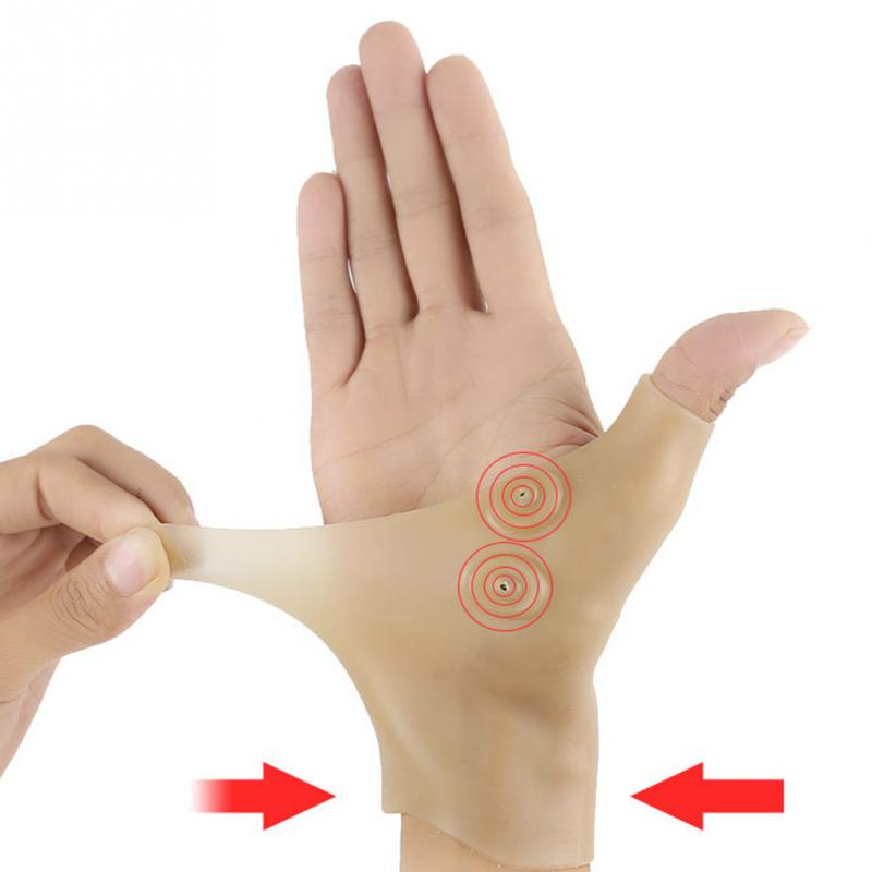 Corrector-Glove Hand-Thumb-Wrist-Brace Carpal-Tunnel Magnetic-Therapy Pain-Relief Syndrome