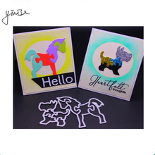 VCD36 ANIMALS CUT SCRAPBOOK Metal Cutting Dies For Scrapbooking Stencils DIY Album Cards Decoration Embossing Folder Die Cuts philosophy di lorenzo serafini легинсы