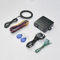 Auto Anti theft System Car Alarm Car Engine Push Start Button RFID Lock Ignition Starter Keyless Entry Start Stop Immobilizer