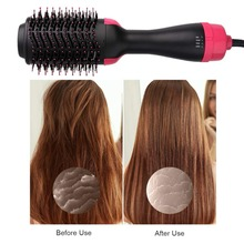 Useful Wind Comb Hot Hair Negative Ion Curler Straight 2 in 1 Multifunctional Air Brush