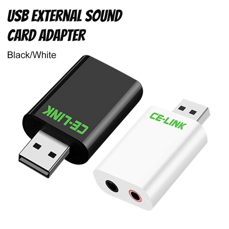 Image 4 - USB Adapter External Sound Card Interface Headphones Microphone Clear No Noise Transmit High Fidelity Music Devices For Notebook-in Earphone Accessories from Consumer Electronics