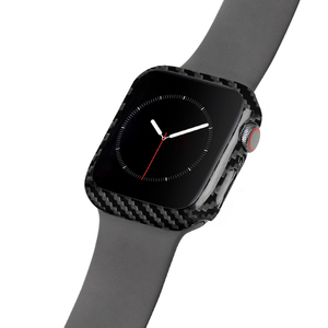 Image 4 - Carbon Fiber Cover For Apple Watch Series 5 4 40mm 44mm Luxury Protective Case For Apple Watch 1 2 3 38mm 42mm Watch Cases Frame