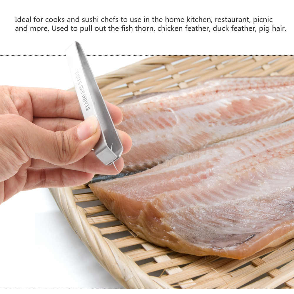 Щипцы из нержавеющей стали, металлические щипцы для удаления рыбьей шерсти, кухонные стаббы, щипцы для удаления меховых костей, щипцы для животных, щипцы для барбекю
