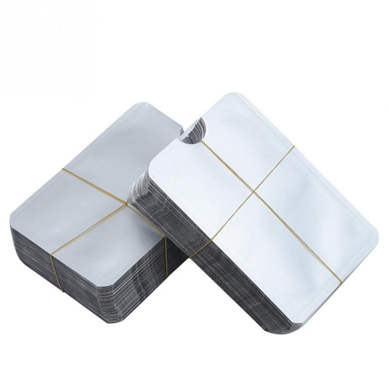 10Pcs Passport Aluminium Convenient RFID Protection Card Case Durable Card Holder