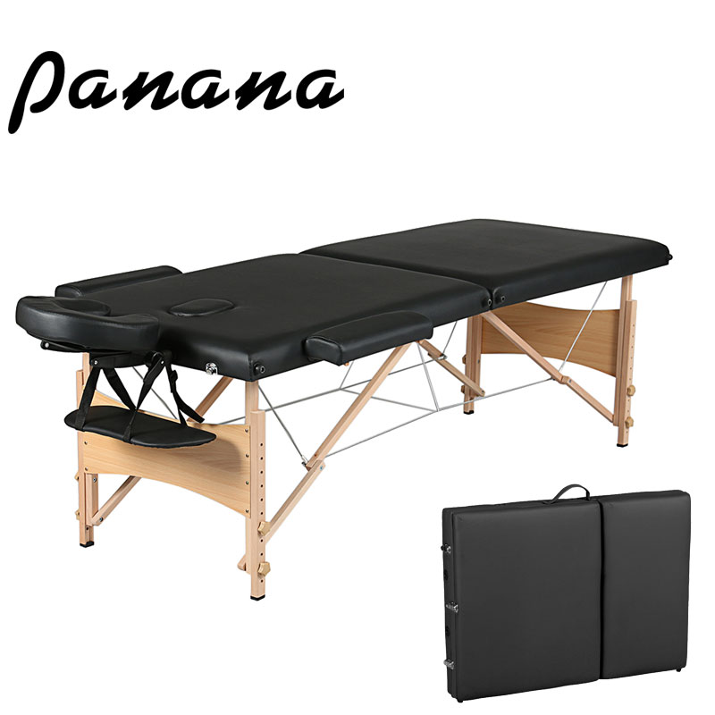 Panana Folding Beauty Bed Professional Portable Spa Massage Tables Foldable with Bag Salon Furniture Wooden Fast deliverPanana Folding Beauty Bed Professional Portable Spa Massage Tables Foldable with Bag Salon Furniture Wooden Fast deliver
