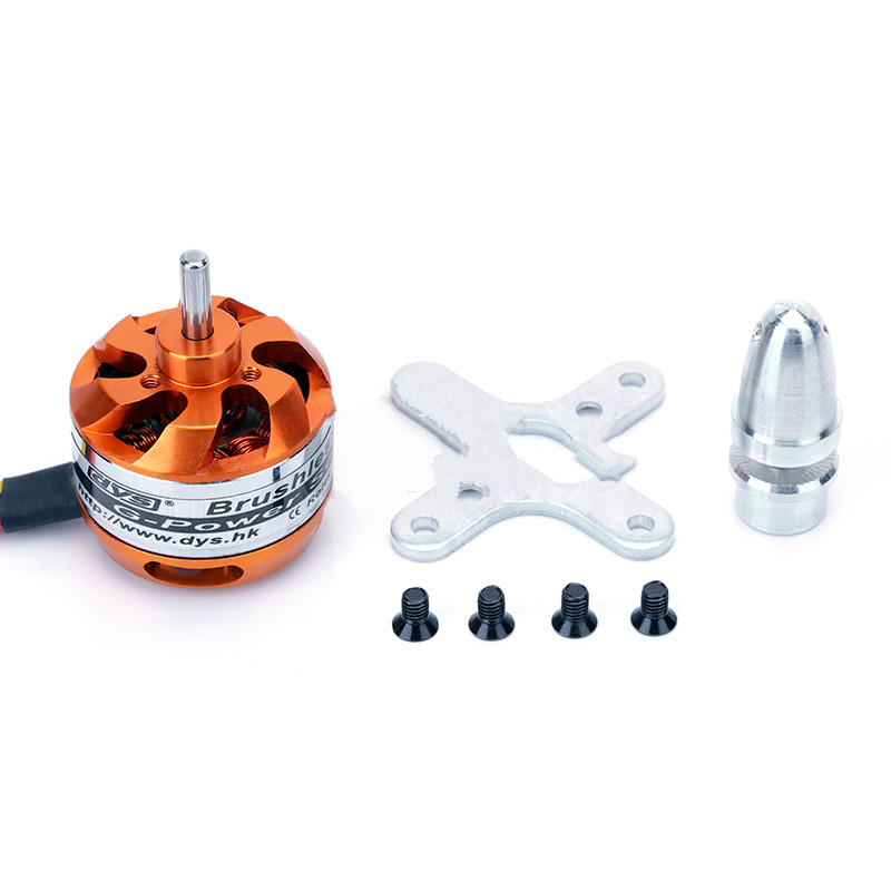 DYS D2822 A2822 Brushless Outrunner 1100KV <font><b>1450kv</b></font> 1800KV 2600KV Quadcopter Airplane Motor Rc Multirotor Burshless Motor image