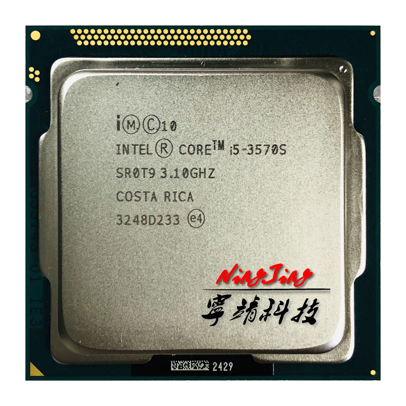 Intel Core i5 3570S i5 3570S 3 1 GHz Quad Core CPU Processor 6M 65W LGA