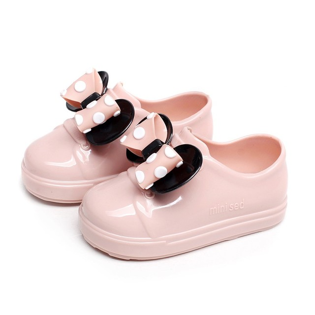 Children's Girls Waterproof Anti-slip Rain Shoes For Toddler