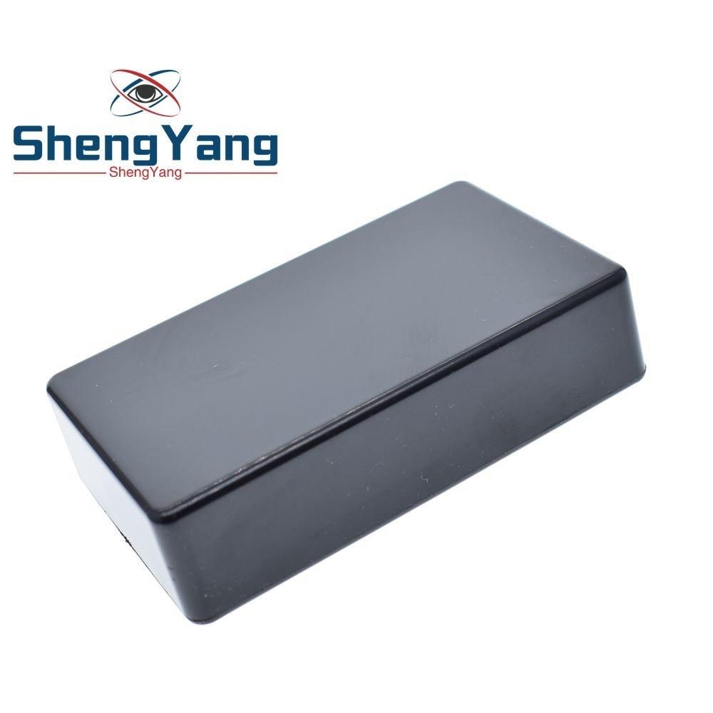 5pcs Electric Plastic Black Waterproof Case Project Junction Box 40x20x11mm
