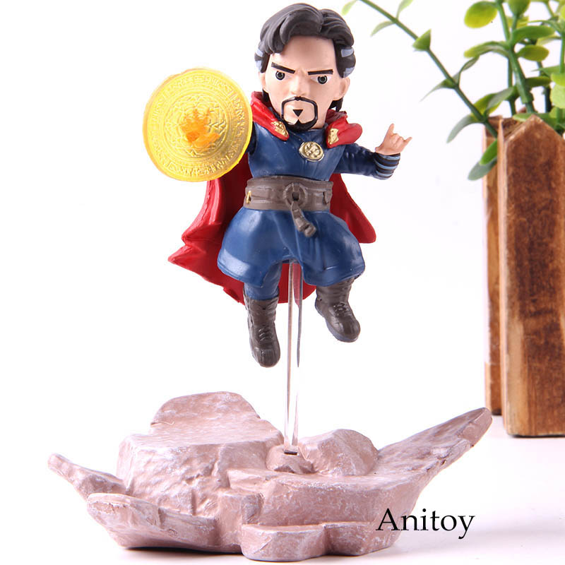 In Symbol Of The Brand Avengers Infinity War Doctor Strange Action Figure Collection Model Toys 12cm Novel Design;