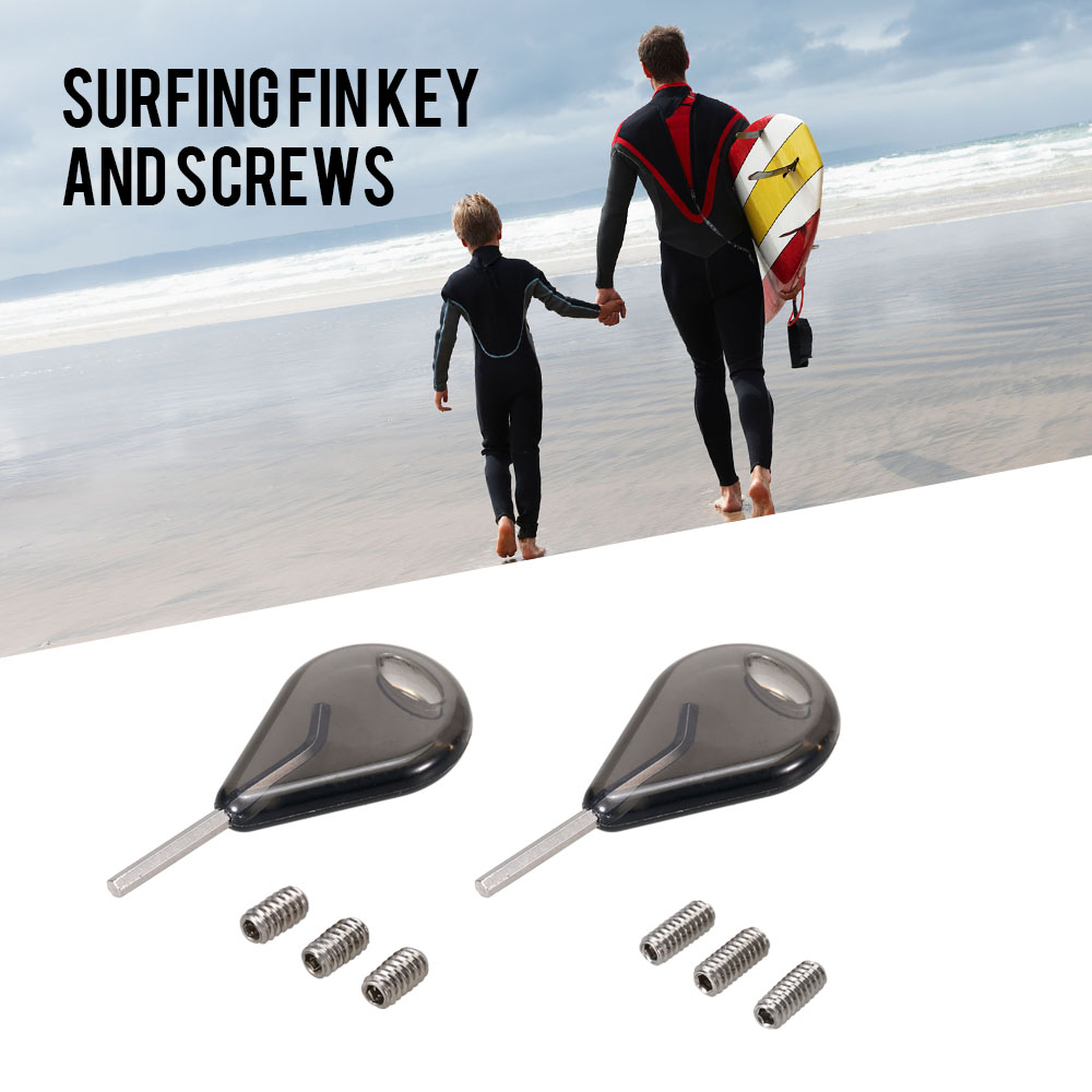 Surfing Board Fin Screws 9mm/12mm For Fcs Fins Extra Fin Key Plate Replacement Kit Surfing Board Screws Surfing & Diving Sports & Entertainment
