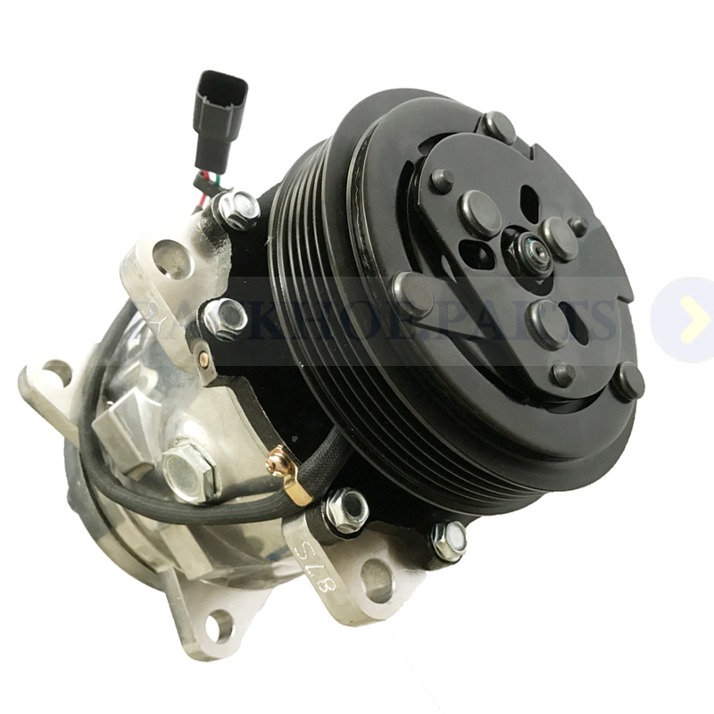 US $255 0 |For Bobcat Skid Steer Loader T550 T590 T595 T630 T650 Air  Conditioning Compressor 7023585 7279139-in A/C Compressor & Clutch from