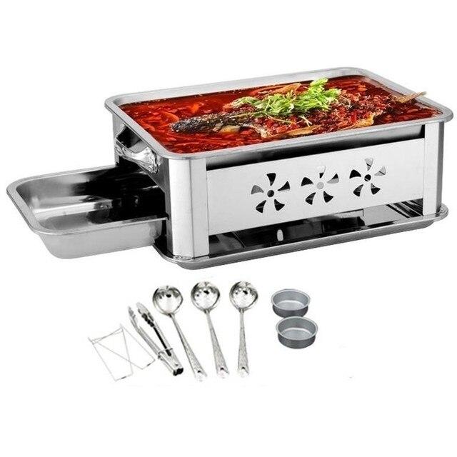 Gril Garden Portable Bbq Parrilla Barbacoa De Carbon Barbecue For Outdoor Kebab Churrasco Churrasqueira Seafood Fish Grill Plate