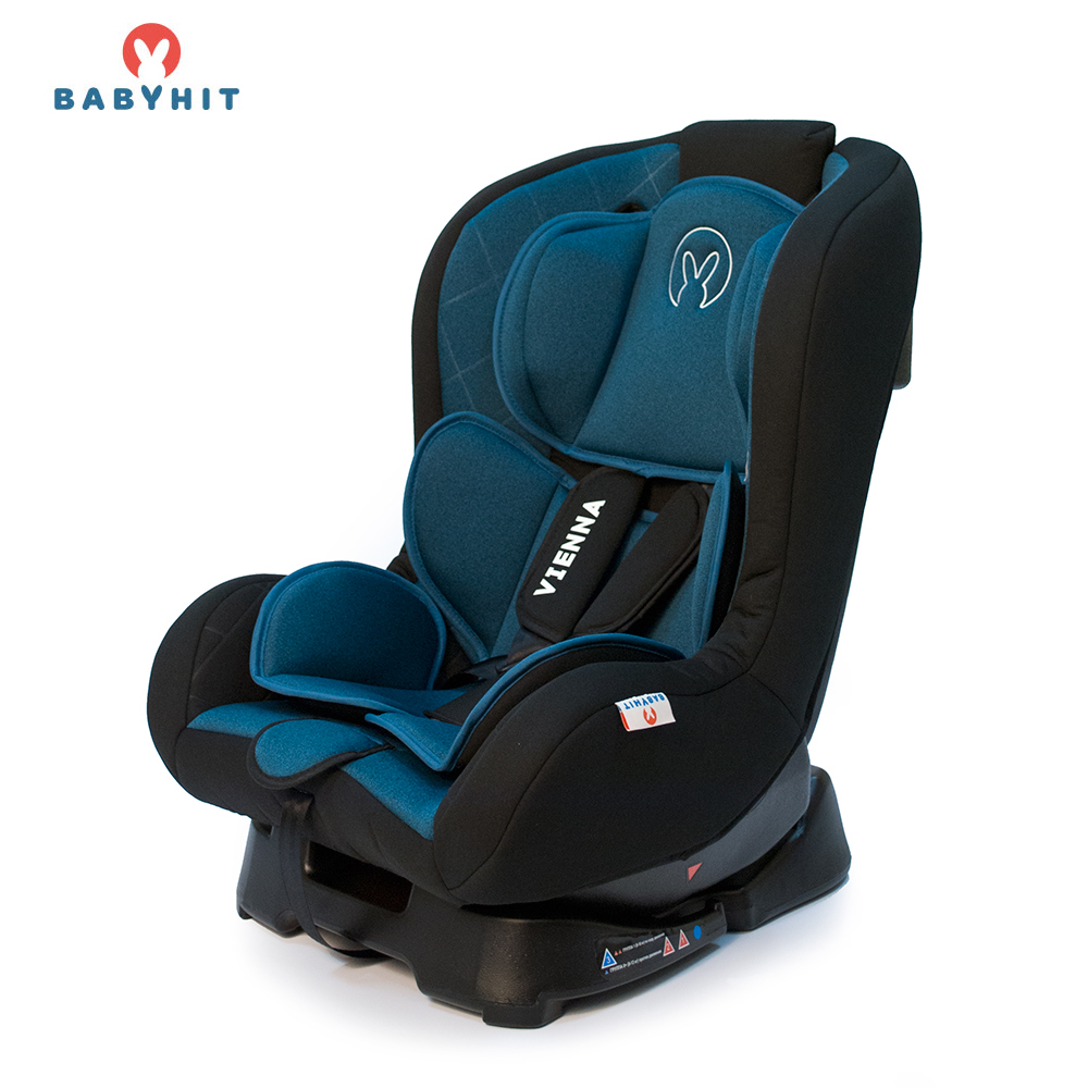 Child Car Safety Seats BABYHIT VIENNA X (BFL010A) Blue for girls and boys Baby seat Kids Children chair autocradle booster pouch child safety seat 9 months 12 years old car baby security seat car portable car seat
