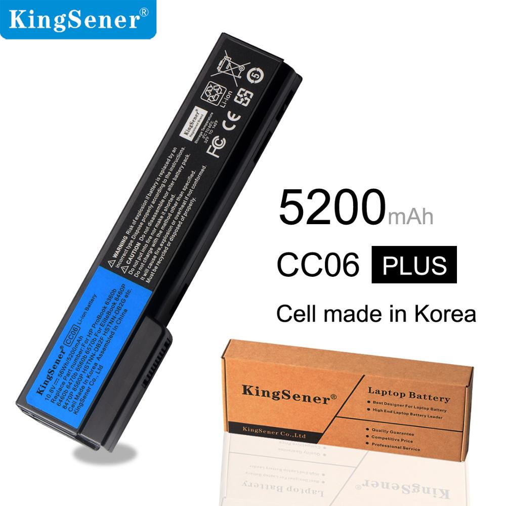 Kingsener Laptop <font><b>Battery</b></font> CC06 CC06XL For EliteBook 8460p 8460w <font><b>8570p</b></font> 8560p 8760p ProBook 6360b 6460b 6470b 6560b 6570b 6360b image