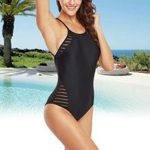 Large Size One - Piece Swimsuit Mesh Lace Woven Female Hot Bikini One Piece Slimming Swimsuits for Women  Swimwear Crisscross все цены