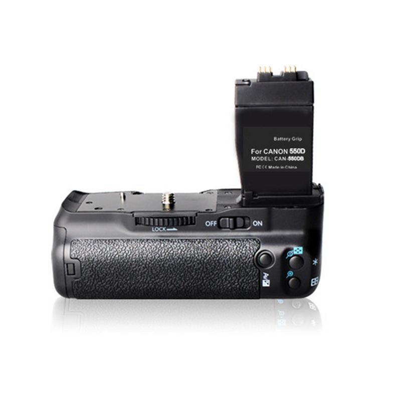 [Original] Pour Canon Caméra Poignée ABS BG-E8 Vertical/6 AA Batterie Cas Double mode d'alimentation Pour Canon REFLEX 550D 600D 650D 700D