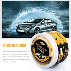 Nowy samochód powłoka wosku farby szyby Scratch naprawa konserwacja piękno utwardzania darmowa gąbka Auto Care premii brazylijski Brown Wax