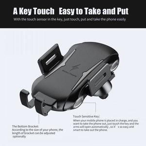 Image 5 - تشى سيارة حامل هاتف شاحن لاسلكي ل Ulefone درع X 6 قوة 5 5s Leagoo الطاقة S10 5 شحن لاسلكي سريع حامل هاتف